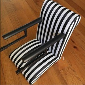 American Girl Doll Striped Bistro Doll Chair